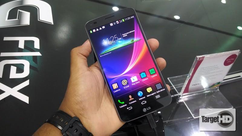 2014 03 25 11.25.39 LG Digital Experience 2014 | Em mãos, o LG G Flex, o smartphone curvado (com hands on)