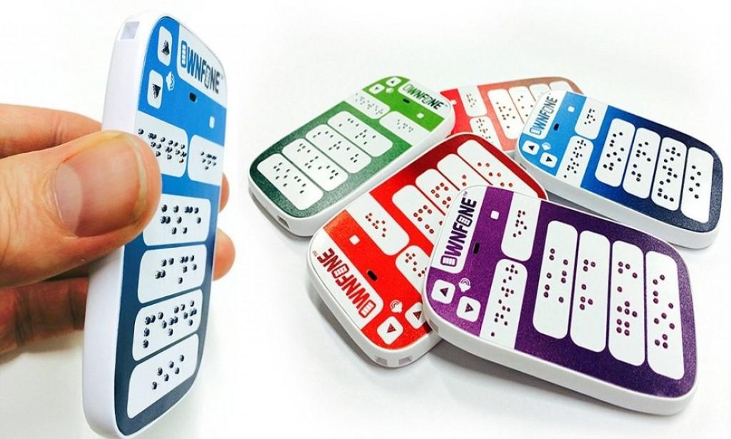 ownfone 1024x615 O OwnPhone é o primeiro telefone em braile a chegar no mercado