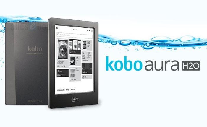 Waterproof eBook Reader Kobo Aura H2O, e reader à prova dágua, será lançado em setembro