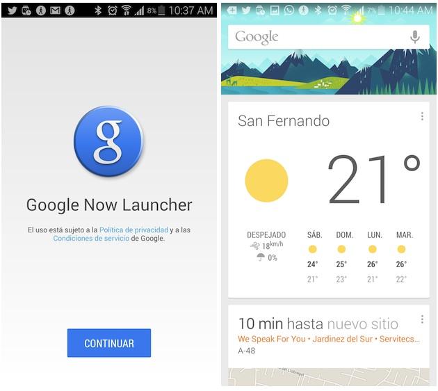 googlenowlauncher Google Now Launcher agora disponível para a grande maioria dos dispositivos Android