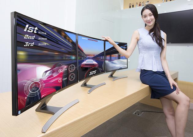 smasung curved monitor Samsung apresenta novo monitor curvado de 27 polegadas