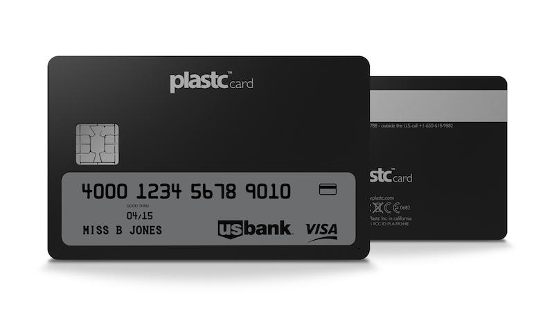 Plastc Plastc, um cartão de crédito que pretende substituir todos os outros