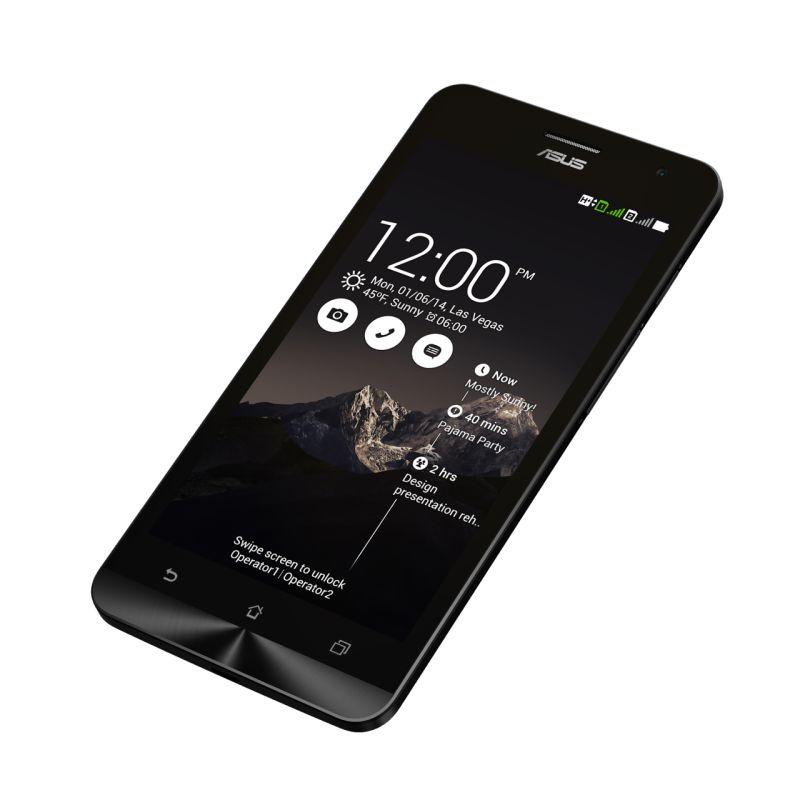 ZenFone5 Black Angle2 ASUS confirma atualização da linha Zenfone para o Android 5.0