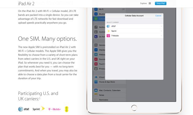 apple lte apple sim Apple SIM, a unificação das operadoras em um único SIM