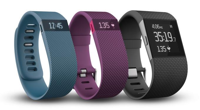 fitbit Fitbit apresenta três novos monitores pessoais: Charge, Charge HR e Surge