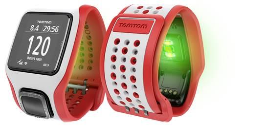 image003 TomTom lança no Brasil os relógios esportivos Cardio, com monitor cardíaco integrado