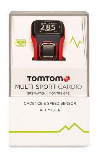 image004 TomTom lança no Brasil os relógios esportivos Cardio, com monitor cardíaco integrado