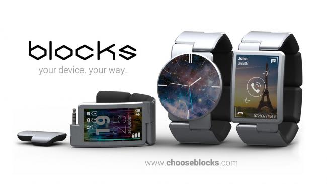 intel phoneblocks Intel e Phonebloks oferecem ao mundo smartwatches modulares