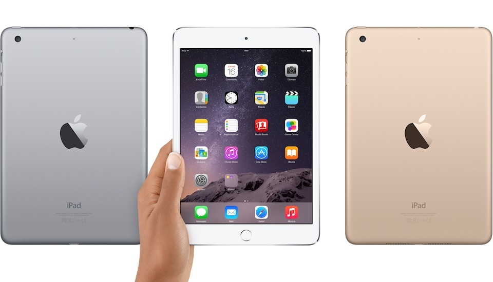 ipad mini 3 iPad Mini 3: agora, com Touch ID