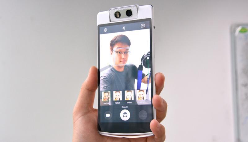 oppo n3 Oppo N3: as selfies com uma câmera motorizada