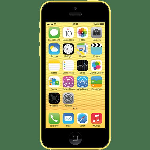 119802449 1GG Black Friday 2014 | iPhone 5c 16GB Amarelo, por R$ 1.299