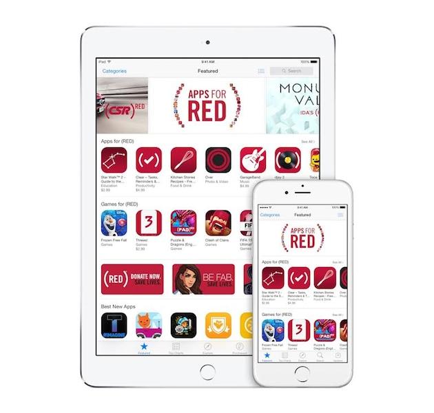 apple for red Apps for (RED): a Apple mais solidária, com a ajuda dos desenvolvedores