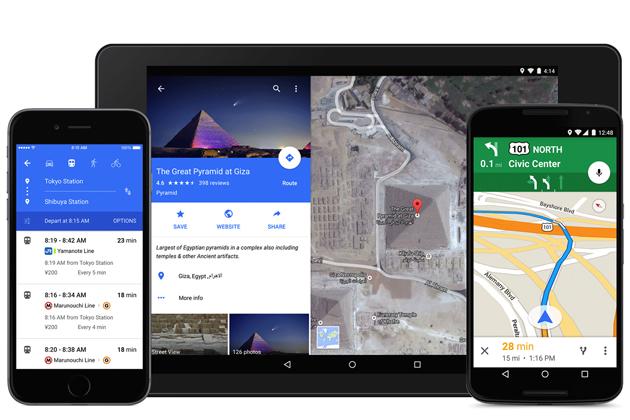 google maps material design Google Maps, melhor do que nunca com o Material Design