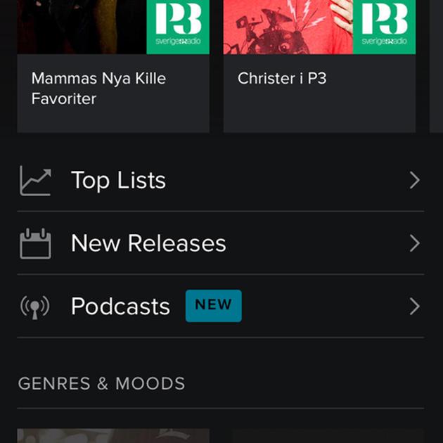 spotify podcasts leak Spotify pode começar em breve o gerenciamento de podcasts