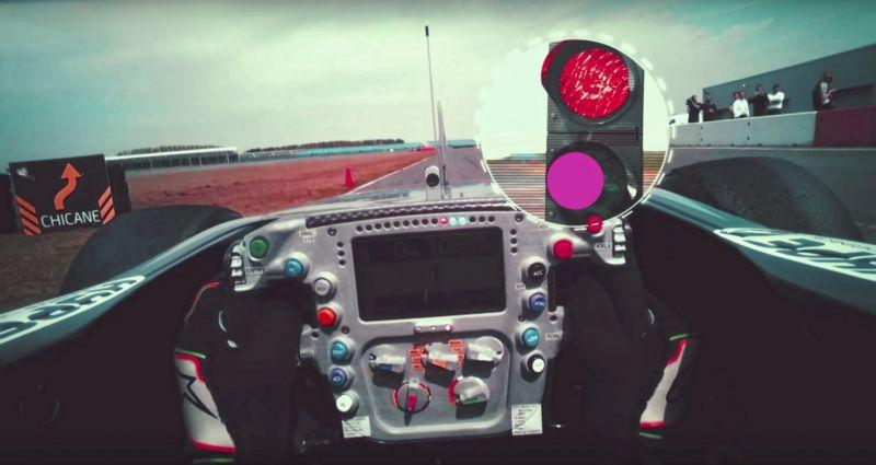 Tobii Formula 1 simulador