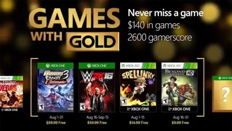 games with gold agosto 2016