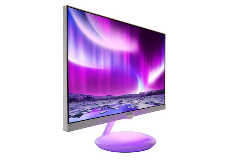 Monitor Philips Moda Ambiglow_purple