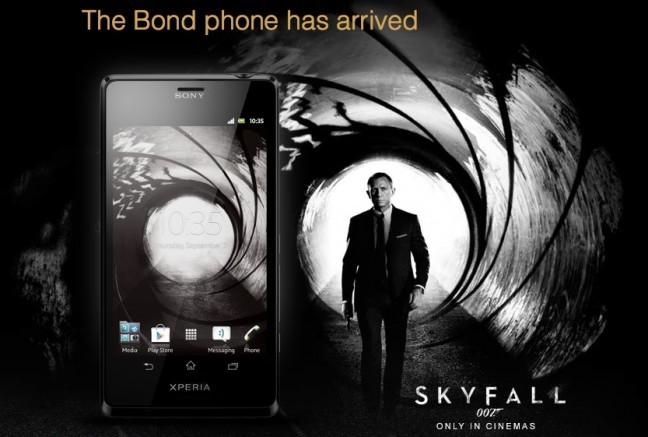 Sony Xperia T Edición James Bond - Skyfall
