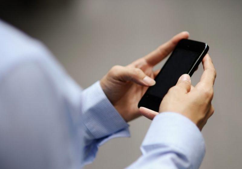 ditar mensagens no smartphone