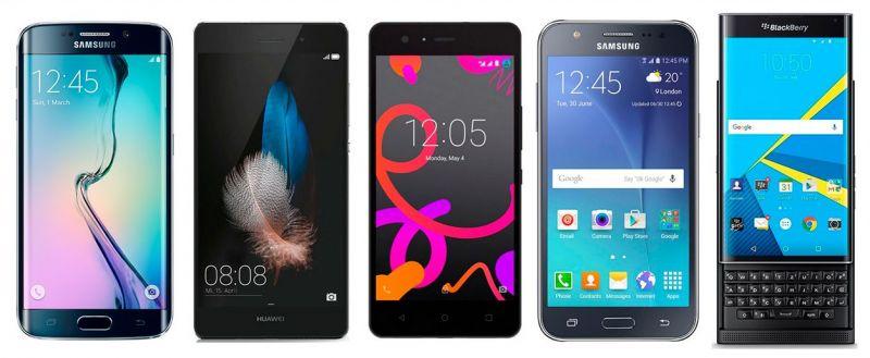 smartphones de 2015
