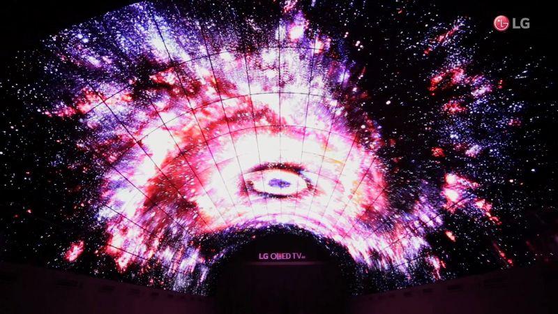 IFA 2016 LG - LG OLED tunnel