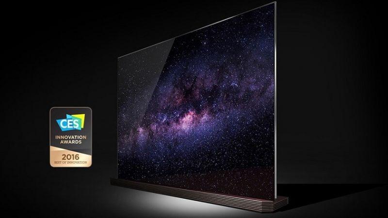 lg tv signature oled de 77 polegadas com tela 4k. Black Bedroom Furniture Sets. Home Design Ideas