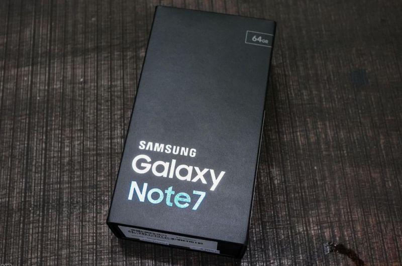 galaxy note 7 caixa