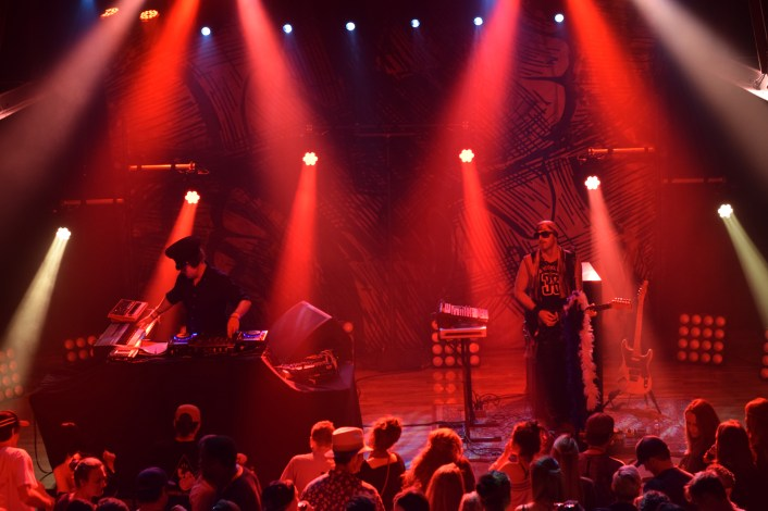 BoomBox performing at a sold out show in Terminal West (Atlanta, Ga.).