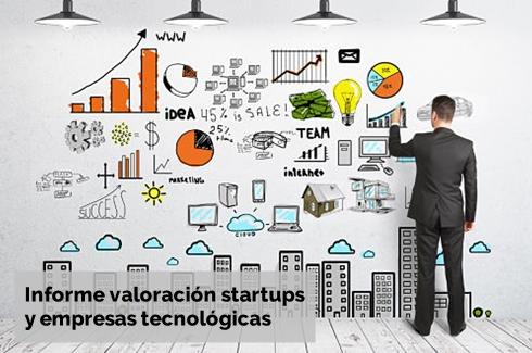 Informe tasacion informatica valoracion startup y empresa tecnologica