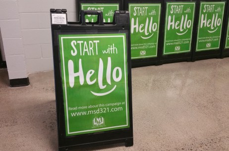 Start with Hello Campaign