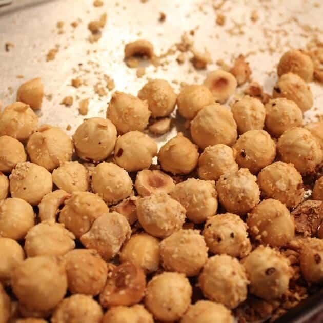 Chocolate Hazelnut Tart roasted nuts 2