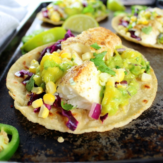 Fish tacos with mango guacamole taste and see for Best fish taco recipe in the world