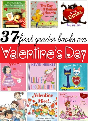 37 First Grader Books for Valentine's Day