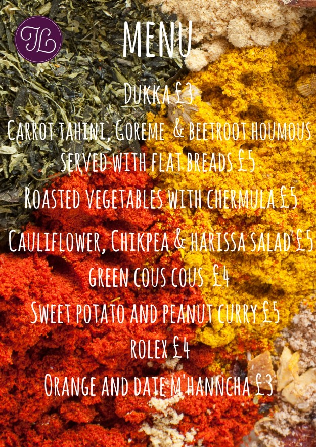 Vegetarian and Vegan Menu Manchester