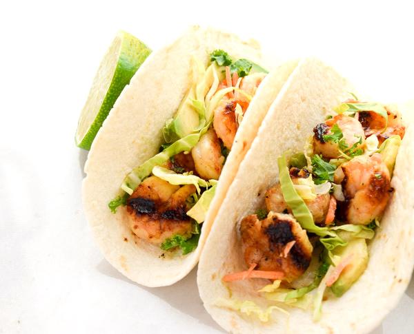 Honey Lime Shrimp Tacos TastyThin