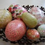 Creative Fridays: Decoupaged Eggs