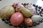 Creative Fridays: Decoupaged Eggs