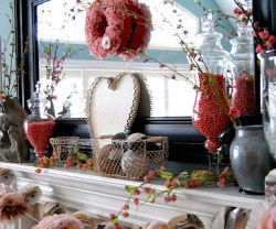 Valentine's Mantle