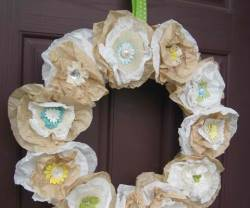 Guest Project: Anthro-inspired Wreath & Giveaway