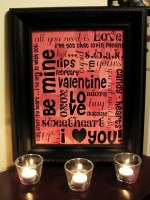 Guest Project — Make Mod Podged Valentine Subway Art {and a couple winners!}