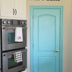 Kitchen Remodel Sneak Peek — and a Painted Pantry Door!!