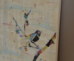 """Summer Social"" Guest Project — Make a Mod Podge Silhouette Canvas!!"
