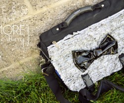 """Summer Social"" Guest Post — Make a Ruffled Laptop Bag Refashion!"