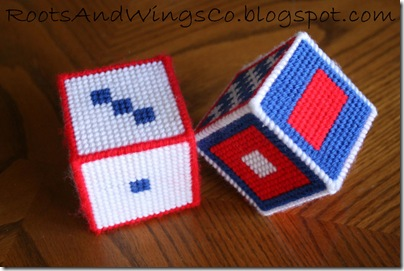 Stitched Canvas Infant Blocks 2