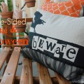 Double Sided Fall & Halloween Pillow