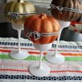 halloween ribbon table runner