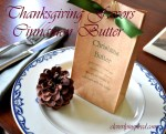 Make Holiday Favors — Handmade Cinnamon Butter!!