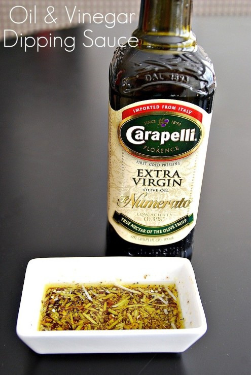 Oil and Vinegar Dipping Sauce