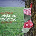 quilted christmas stocking header