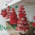 whimsical tree garland